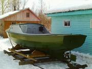 Продам катер деревянный новый