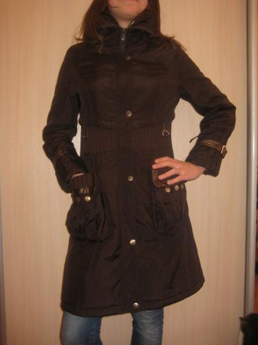 Пальто для девочки 11-12 лет
