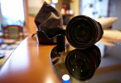 Объектив Canon EF 24-105 .mm f/4 L IS USM.
